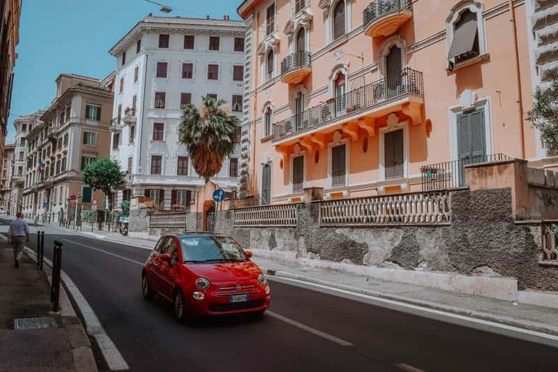 taxi en italia