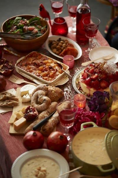 cena de navidad italia